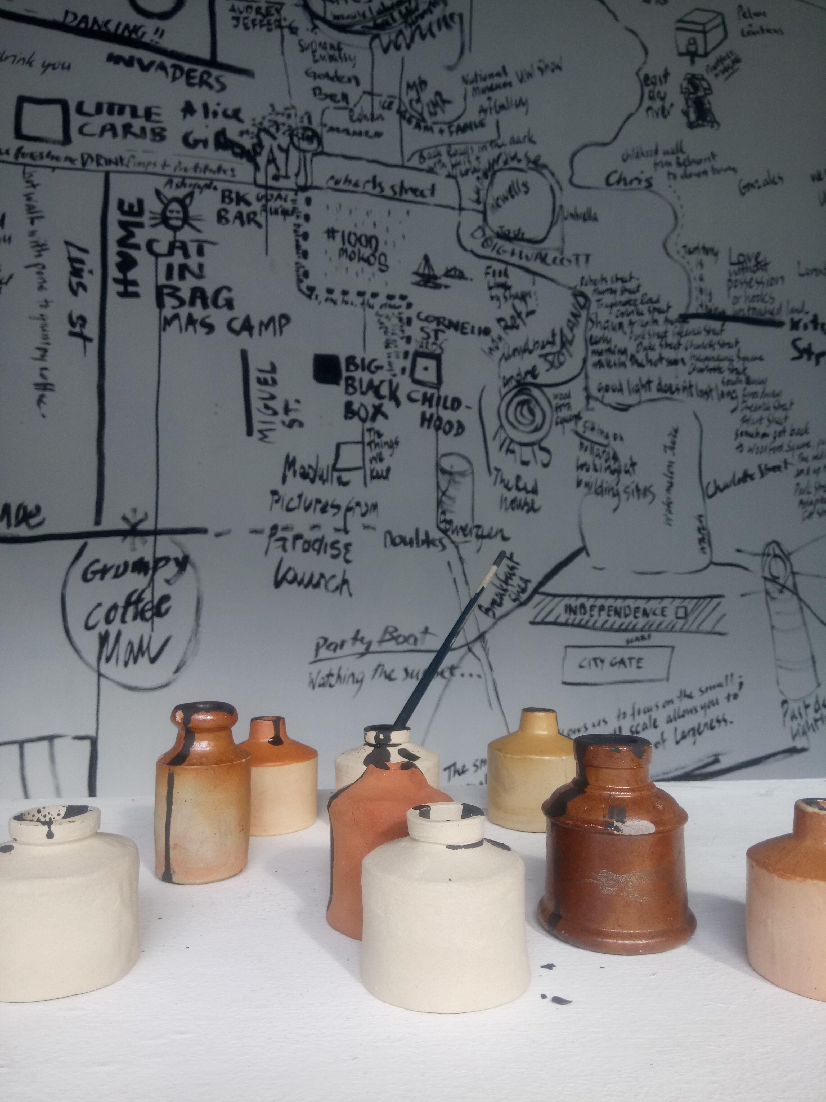 Final Presentation at Alice Yard, Trans-Atlantic Artists